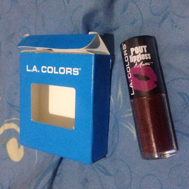 LA Colours Lip Matte