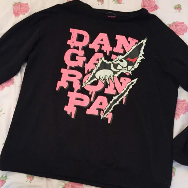 Listen Flavor Dangan Ronpa Monokuma jumper