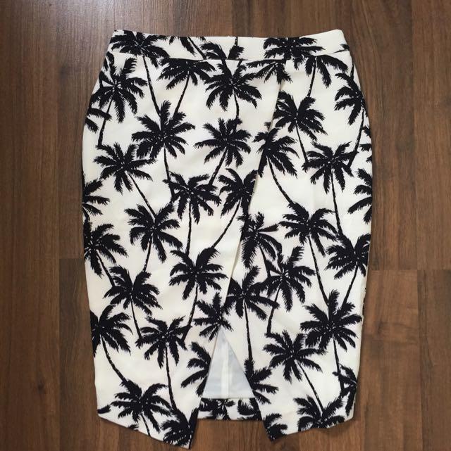Lulu & Rose Palm Skirt