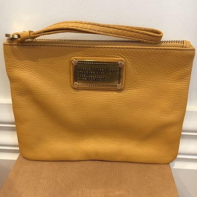 Marc By Marc Jacobs Mustard Pouch