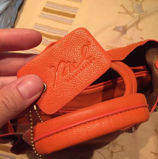 Mel's Accessories Orange Bag