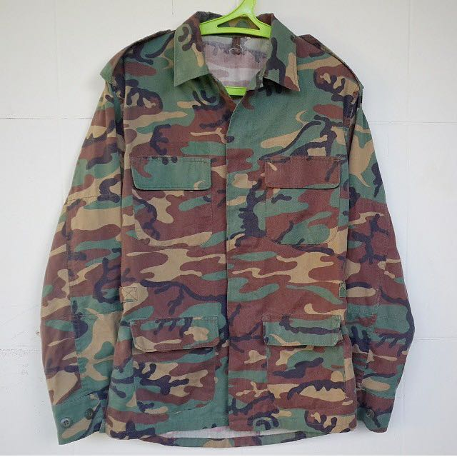 Military Camo Jacket