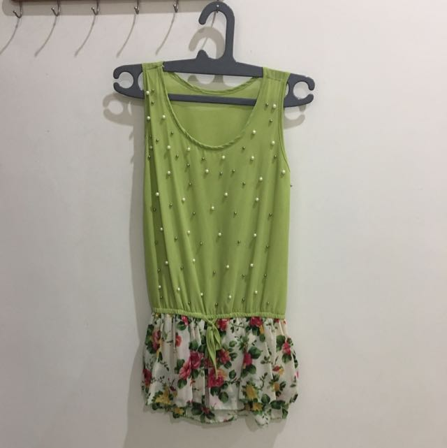 mini dress chiffon