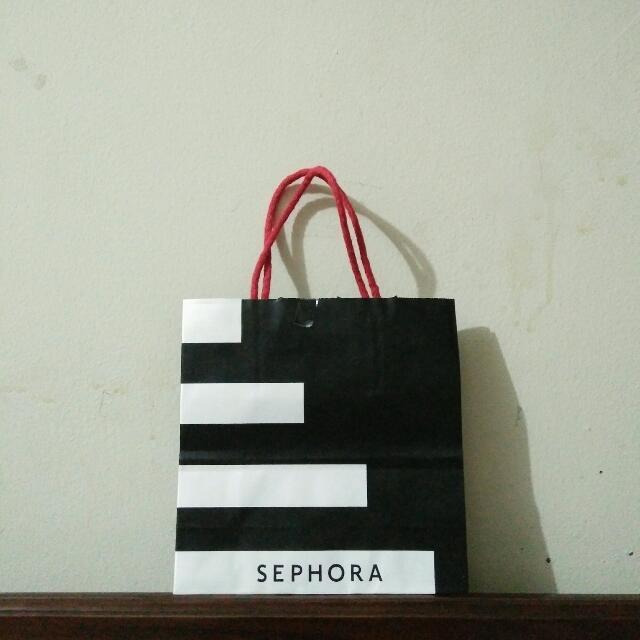 mini sephora paperbag