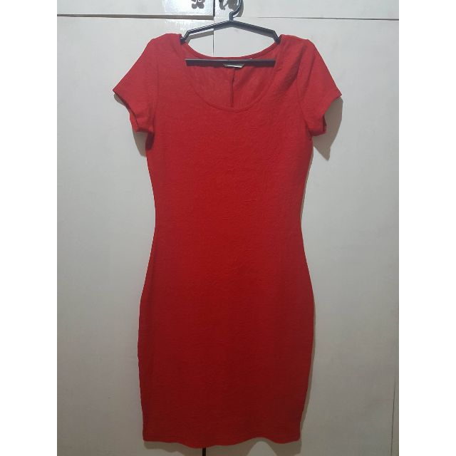 New Look - Red Bodycon Dress