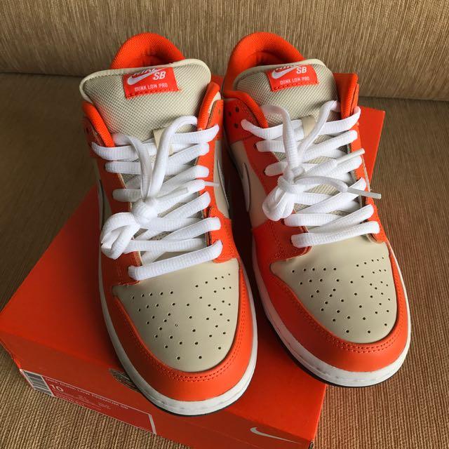 info for ead84 fdff6 Nike Dunk Low Pro SB Orange Box US 10 UK 9 Tiffany Takashi Supreme ...
