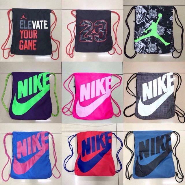Nike/Jordan/Elite/Adidas String Bag
