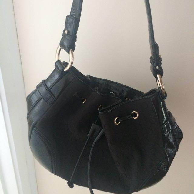 oroton handbag black