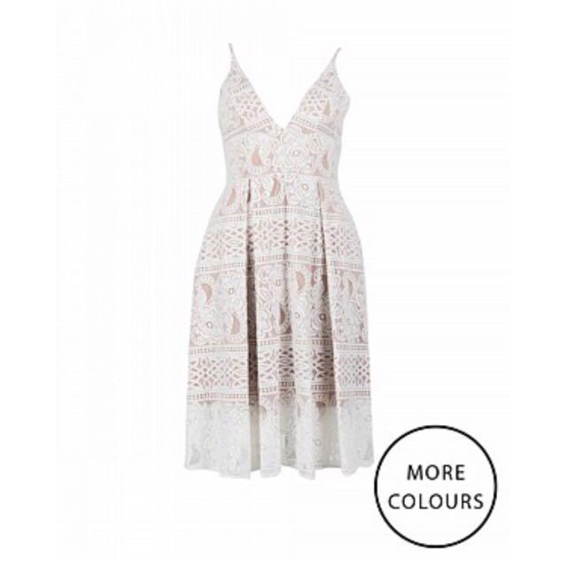 Pilgrim Lace Midi Dress