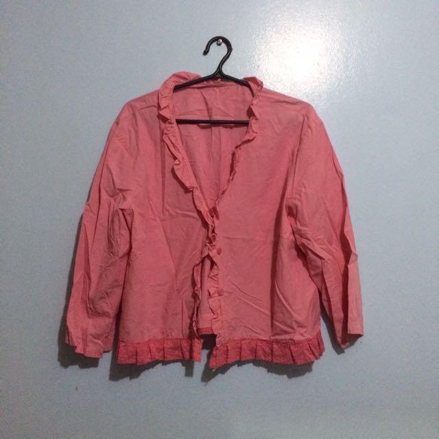 Pink Cardigan/Bolero
