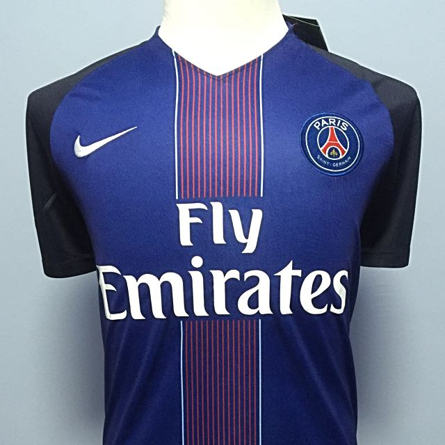 premium selection ce073 13c06 PSG 2016/17 Home Replica Jersey, Sports, Sports Apparel on ...
