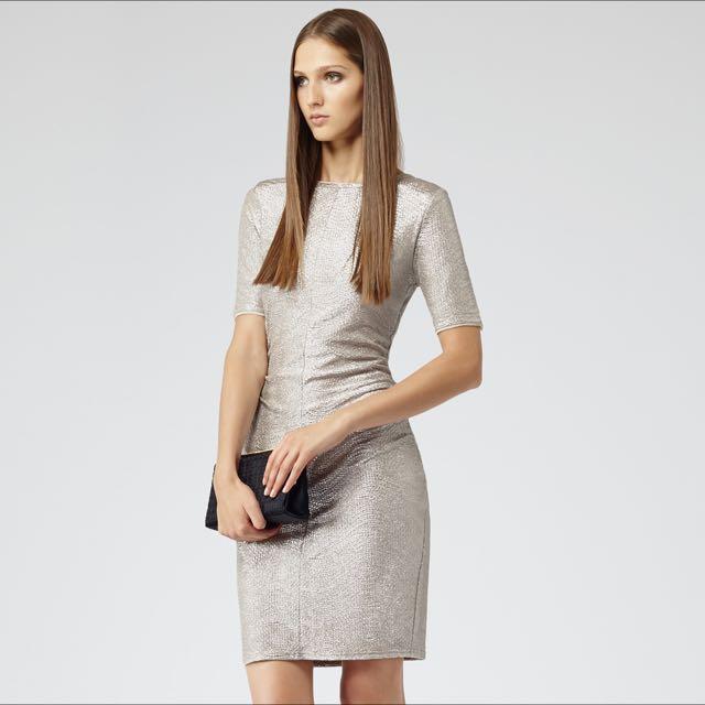 Reiss Silver Abel Lia Dress