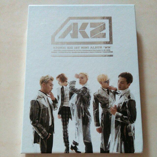 Signed CD AKZ (Atomic Kiz)
