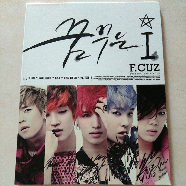 Signed CD F.Cuz