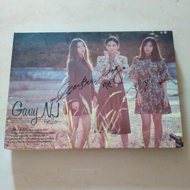 Signed CD Gavy NJ - Hello