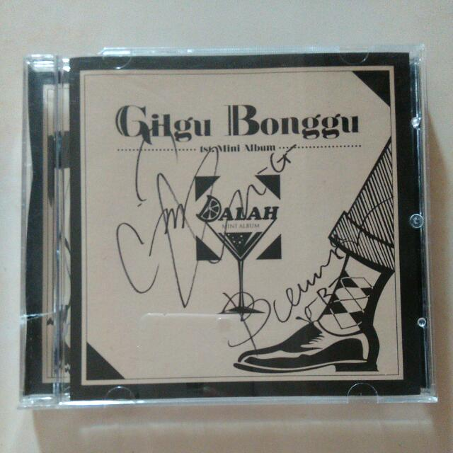 Signed CD Gilgu Bonggu