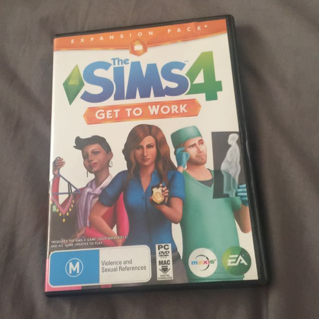 """Sims 4 """"get To Work"""""""