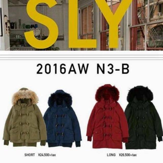 SLY N3B保暖厚大衣✨