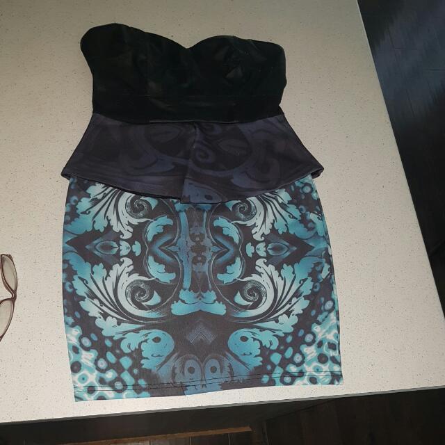 Maddison Square Strapless Dress