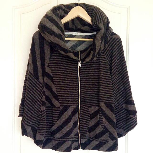 Striped Jacket Size S-M