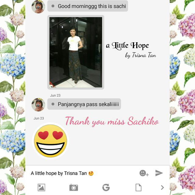 Testimonial.. Much Love From Our Customers.. 😍