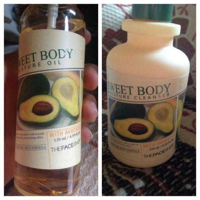 THE FACE SHOP BODY OIL&CLEANSER