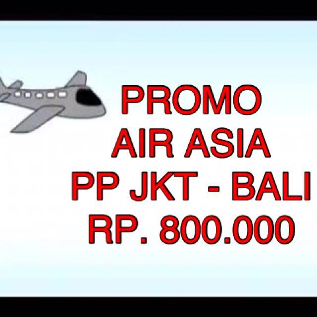 Tiket Promo Airasia