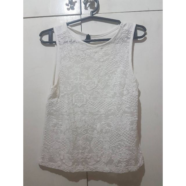 Topshop - White Top
