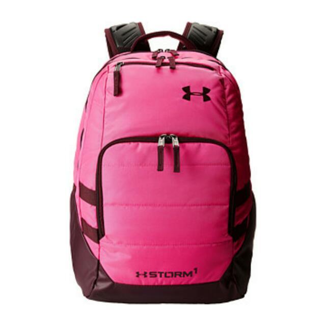 UA 全新粉色後背包