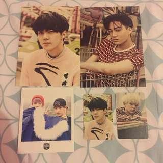 EXO Photocards