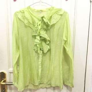 Greeny Vintage Top Shirt