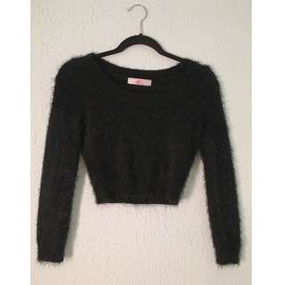 American Apparel Fuzzy Sweater