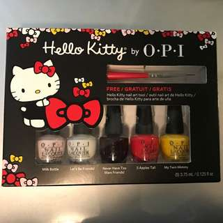 Hello Kitty Nail Polish Kit by OPI