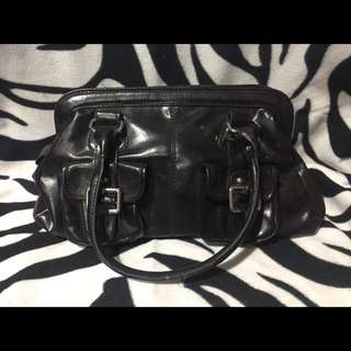 Plain Black ALDO Purse