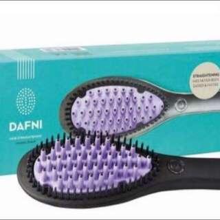 Brand New Dafni Hair Straightening Ceramic Brush