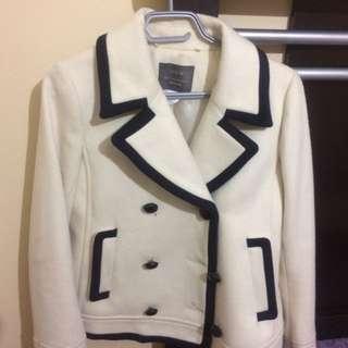 J Crew white jacket