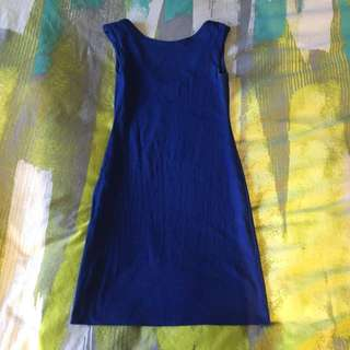Kookai Blue Cotton Dress $20 Size 2