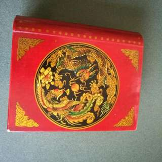 Small asian print box