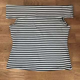 Witchery Off The Shoulder Top - Size S