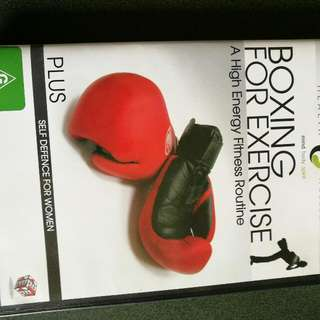Boxing/ Self Defense Dvd