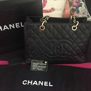 Authentic chanel GST GHW
