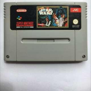 Super Starwars For Super Nintendo
