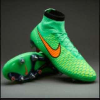 Boy Soccer Boots Size 6