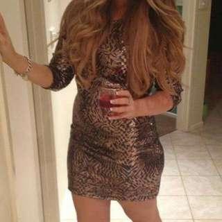 Sass Sequin Dress