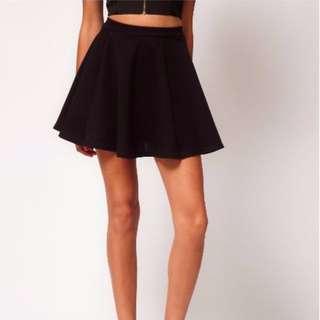 Black River Island Skater Skirt Size 8