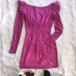 Finders Keepers Long Sleeve Dress. Size 6
