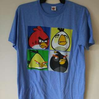 ANGRY BIRDS OFFICIAL LICENSED T SHIRT