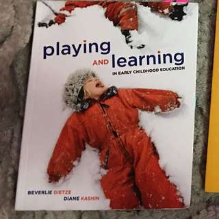Playing And Learning In Early Childhood
