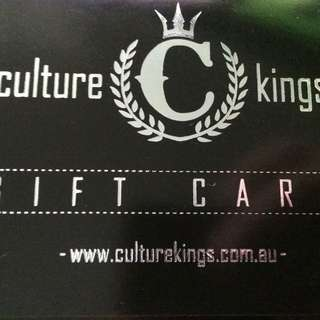 Culture Kings Gift Card $50