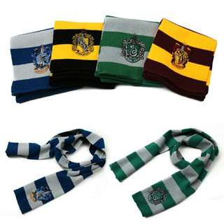 2016 Fashion Winter Scarves Harry Potter Scarf Scarves Knit Scarves Cosplay Costume Gift for Teenagers Gryffindor ravenclaw Hufflepuff Slytherin